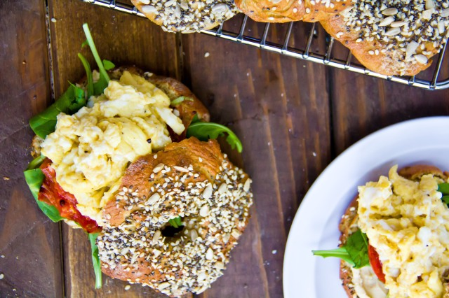 Chia, Sesame & Sunflower Seed Bagels (4 of 21)