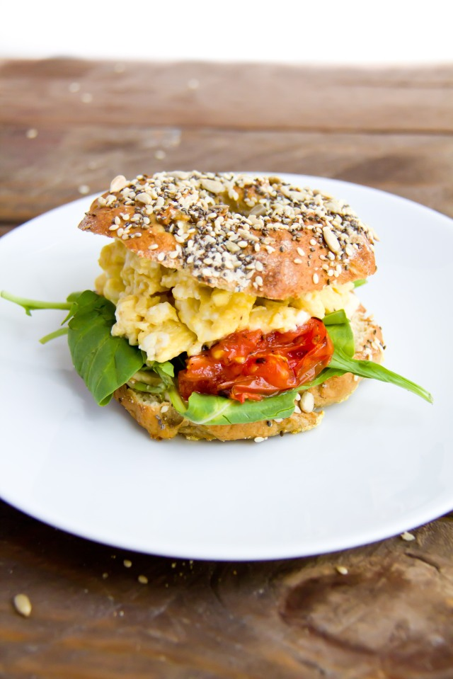 Chia, Sesame & Sunflower Seed Bagels (5 of 21)