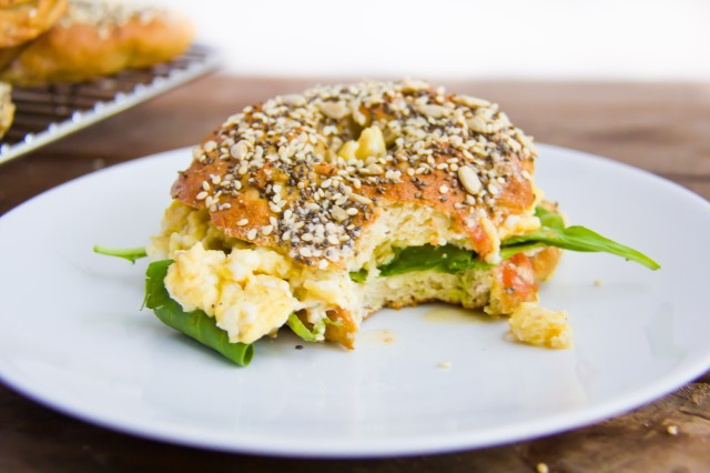 Chia, Sesame & Sunflower Seed Bagels (7 of 21)